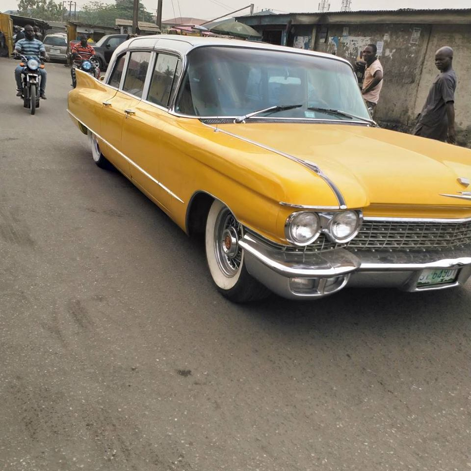 1962 Cardilac Fleetwood Limousine Spotted In Lagos (Photos)