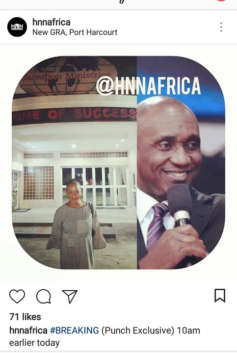 Finally! Kemi Olunloyo Reconciles With Pastor Ibiyeomie; She Now Attends His Church!!
