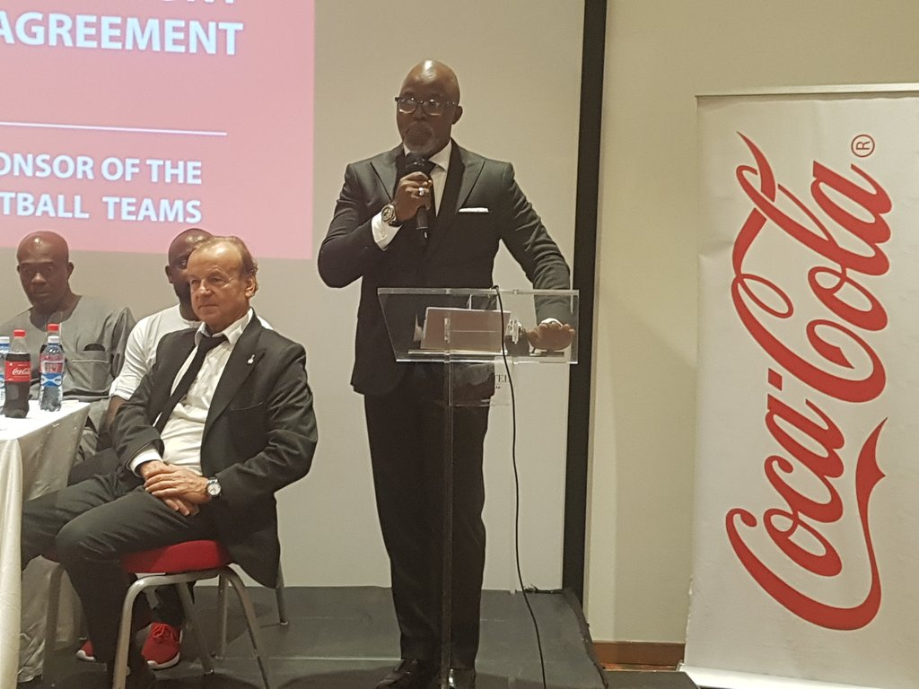 NFF Signs $4m Deal With Coca-Cola (Photo)