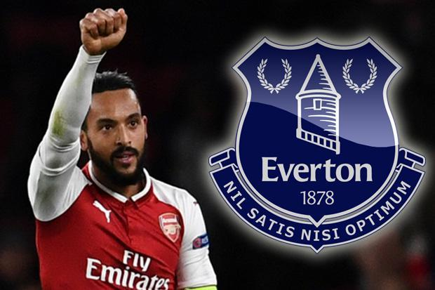 Just In:Everton Completes The Signing Of Theo Walcott From Arsenal