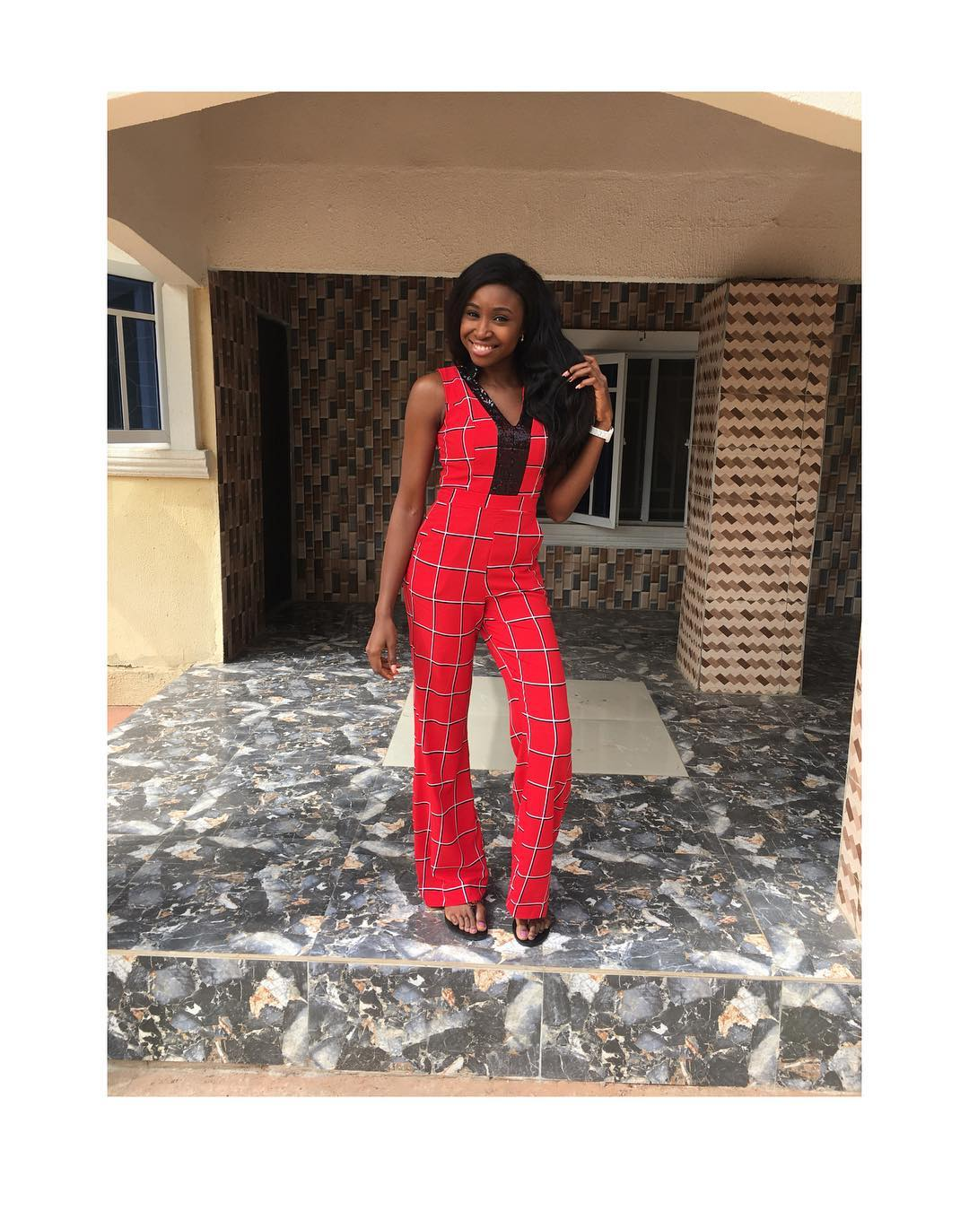 Who else have noticed her presence.. Chidinma Okeke of ther Cucumber saga is back