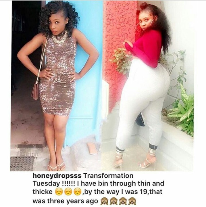 Slim Lady Shares Her 3 Years Journey To A Gigantic…