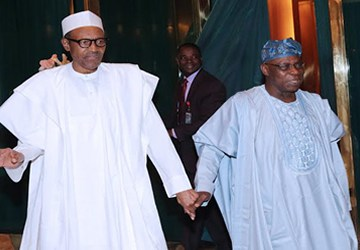 """Obasanjo To Buhari: """"You Must Step On Toes Of Friends, Well-Wishers"""""""