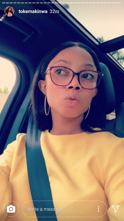 See What Toke Makinwa Looks Like As She Steps Out Without Makeup