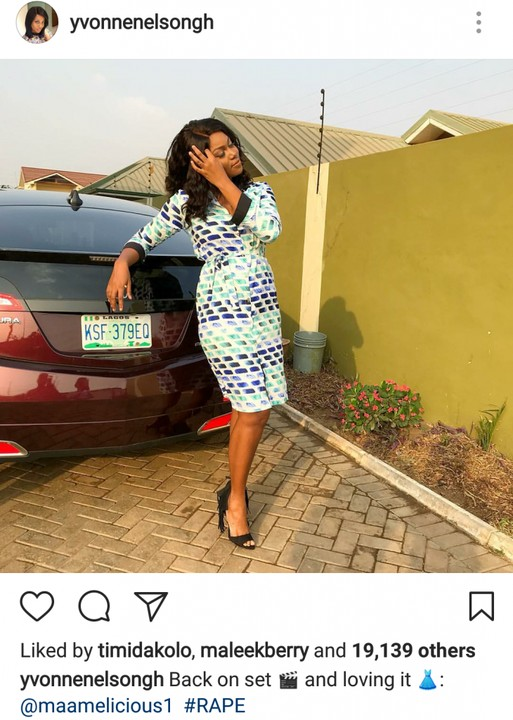 6588083_screenshot201801212142061302948726730x1024_jpegf45cc1defe6e930d15900d76bb33df7a Yvonne Nelson Is Back On Set For A New Movie As She Looks Fabulous In New Photos