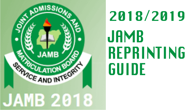 {filename}-Step By Step Guide On How To Reprint Your Jamb 2018 Examination Slip