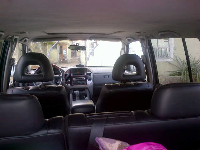 a montero sports 2001 model registered less than a year well maintained in pristine condition is up for grabs 18m for further details contact - Mitsubishi Montero 2001 Interior