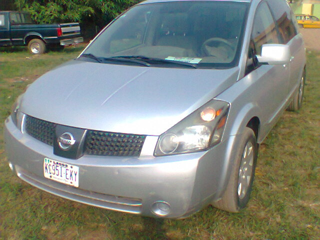 neatly used 2004 nissan quest for urgent sale autos nigeria. Black Bedroom Furniture Sets. Home Design Ideas