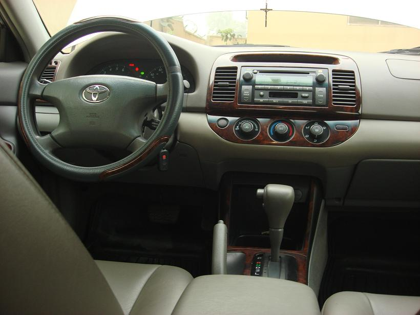 Leather Interior 2003 Toyota Camry Le For Sale Tel