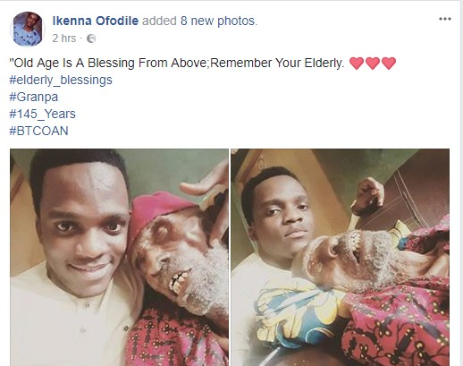 6627683 k53 jpeg109d5159fddd10f987dbdd8896b37b73 - Nigerian Pastor Poses With His 145-year-old Grandpa (Photos)