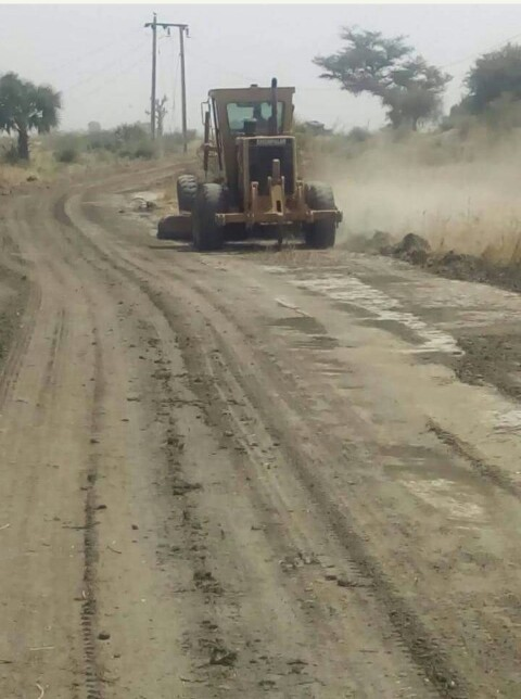 Nigerian Army Constructing A Road Into Heartland Of Sambisa Pictures