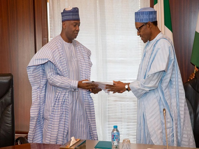Benue Killings: Read President Buhari's Letter To Senate President Saraki (Full Text)