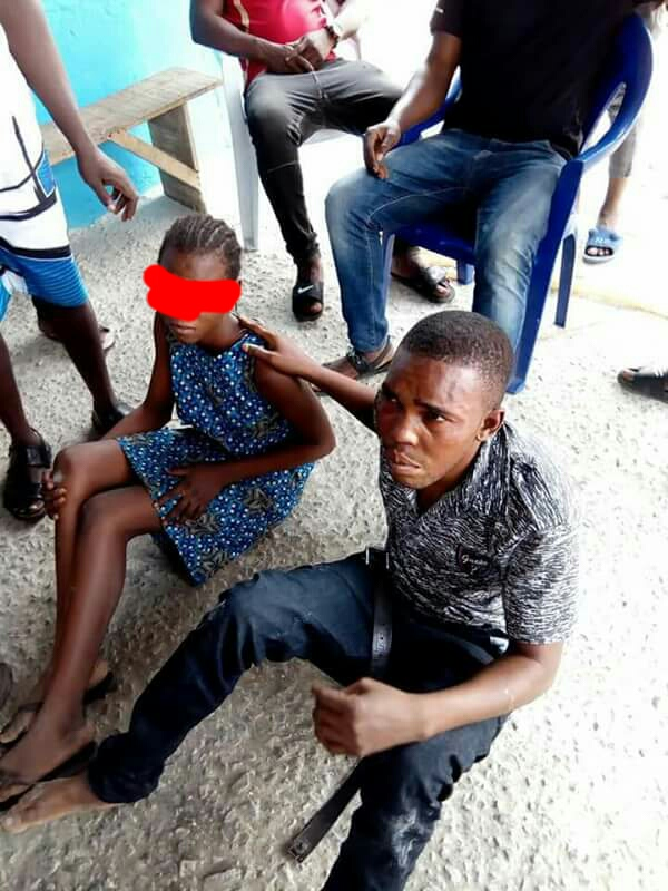 Policeman Caught Having Sex With His Stepdaughter In Warri
