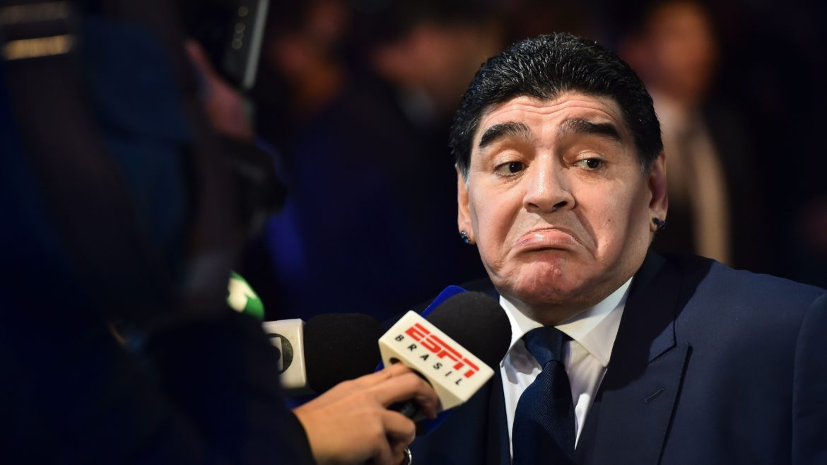 "Donald Trump Bans Ex Footballer, Maradona From Entering US ""For Insulting Him On TV"""