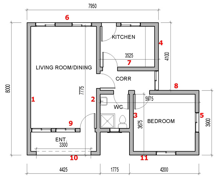 9ja how to calculate number of blocks for your building for House plan calculator