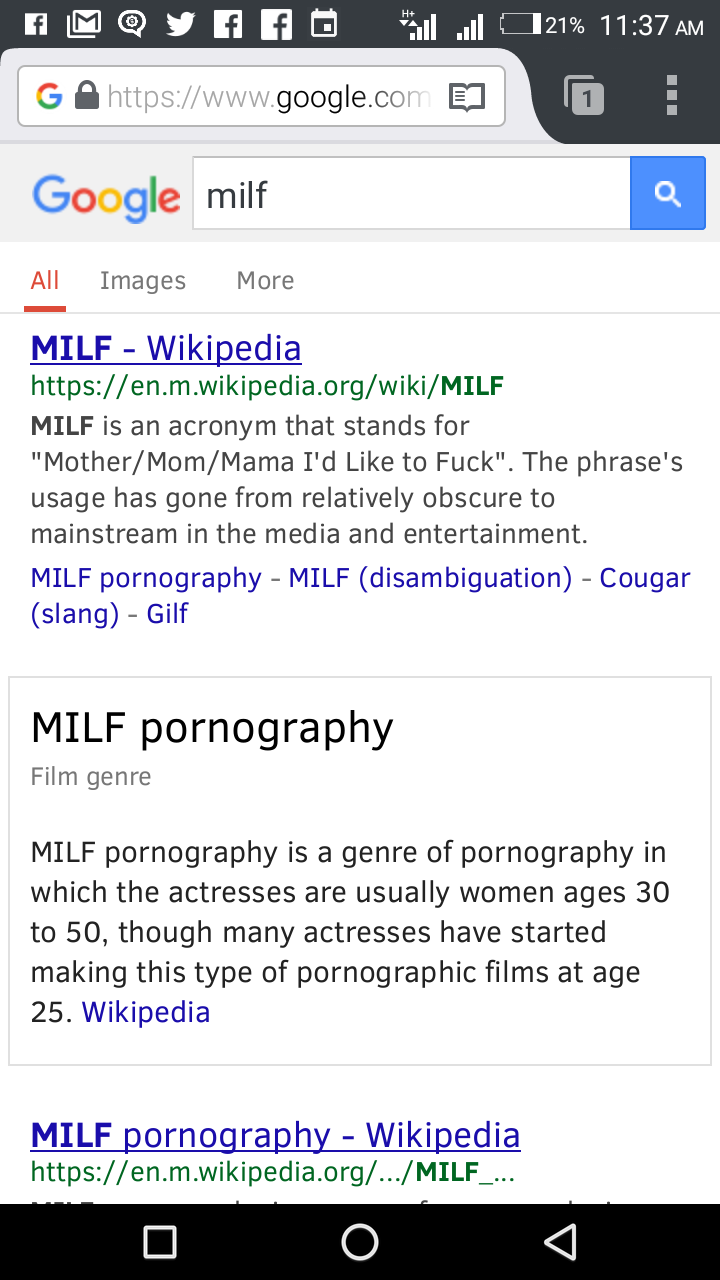 Milf acronym stands for pics 252