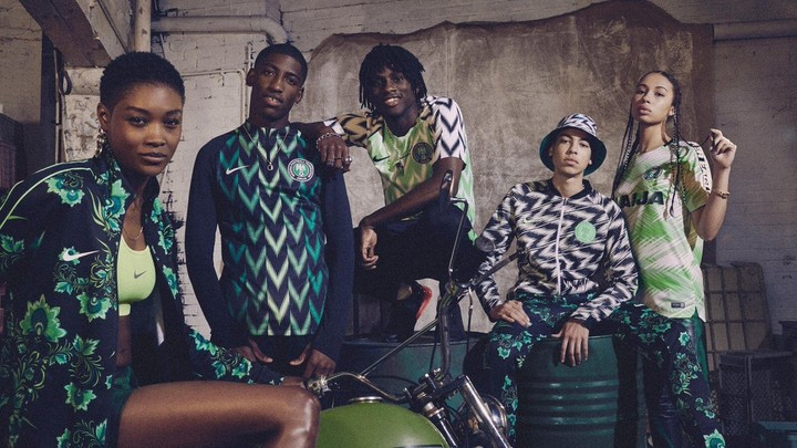 52954e603d5 The designs will ignite memories of the patterned Adidas jersey the Super  Eagles wore at the 1994 Africa Cup of Nations in Tunisia and their first  World Cup ...