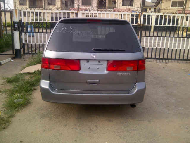 Auto Transmission. Factory AC Fabric Seat. Sound Engine; Contact Me  08031972591, +22966541842. Re: Lagos Cleared 1999 Honda Odyssey ...