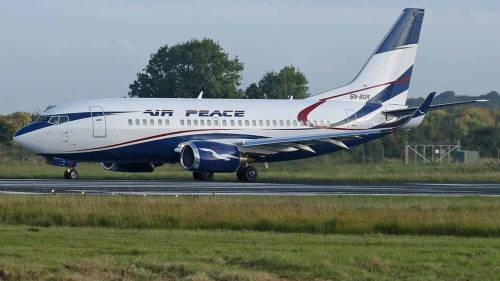 Robbers Attack Air Peace Aircraft While Taxiing To Take Off At Lagos Airport