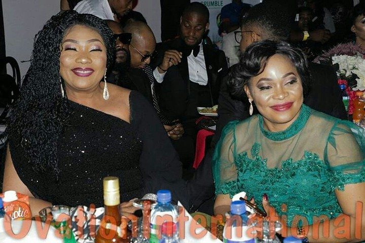 CUTE!!!:   Omotola & Eucharia Anunobi Perform Her Song Together At Omotola's 40th Birthday