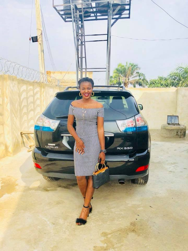 """Dear Slay Queens, Before You Sleep Tonight"": Lady POP Designer Buys Lexus Jeep (PHOTOS)"