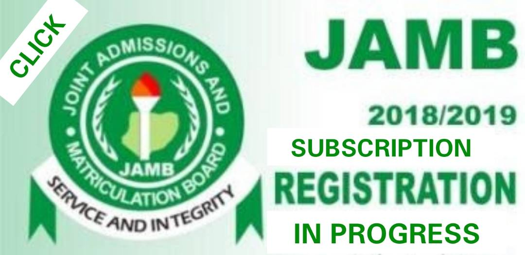 {filename}-Jamb Closes Registration For 2018 Utme