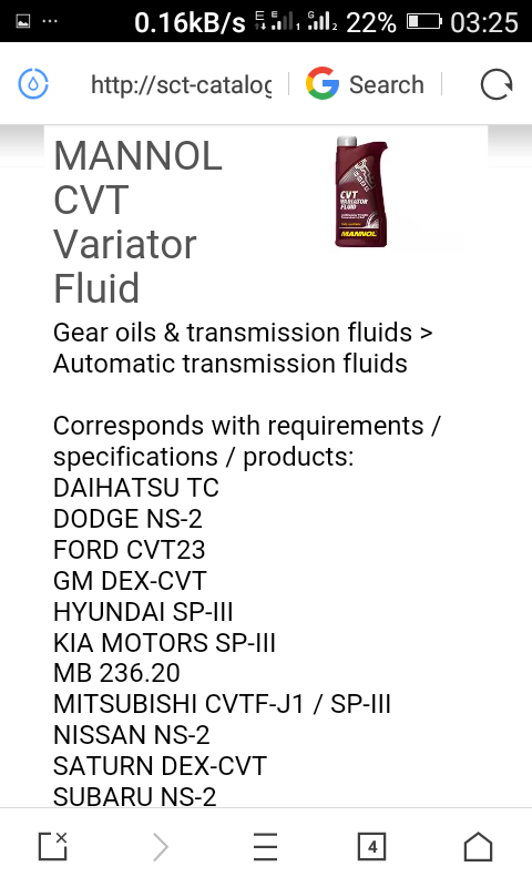 Where Is Nissan CVT Oil NS-1 Oil Available In Nigeria or