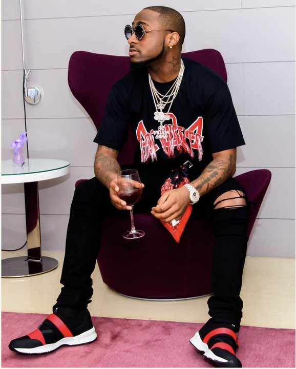 a1688ead41d Does anyone know the maker of the sneakers worn by Davido in this picture.  Not sure if it s Nike or Adidas or some other brand names.