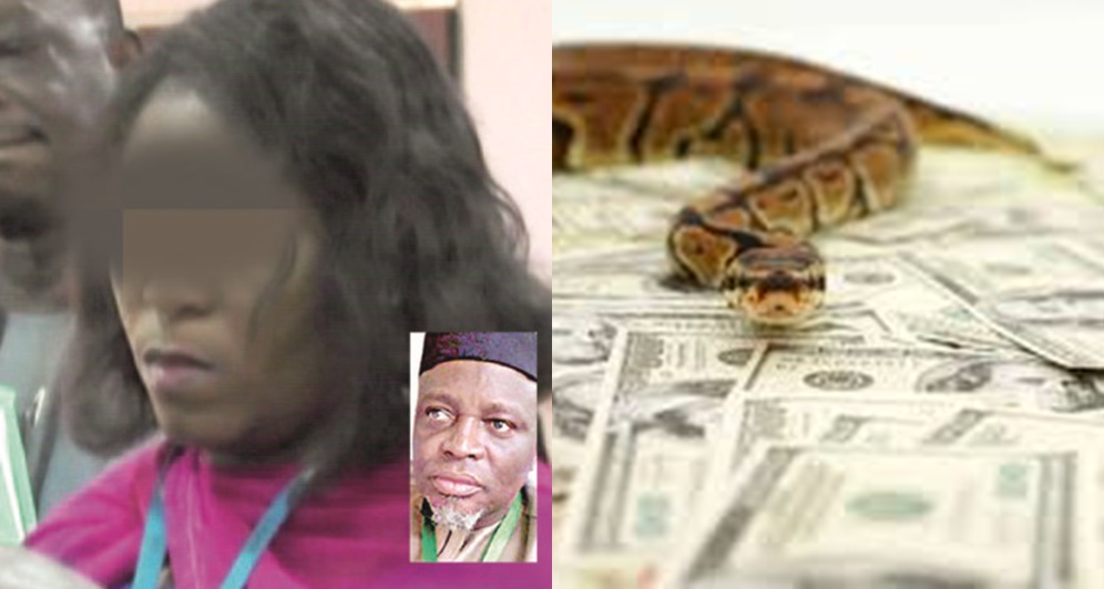 "JAMB Staff's Housemaid, The ""Snake Girl"" Accused Of Swallowing N36m Speaks"