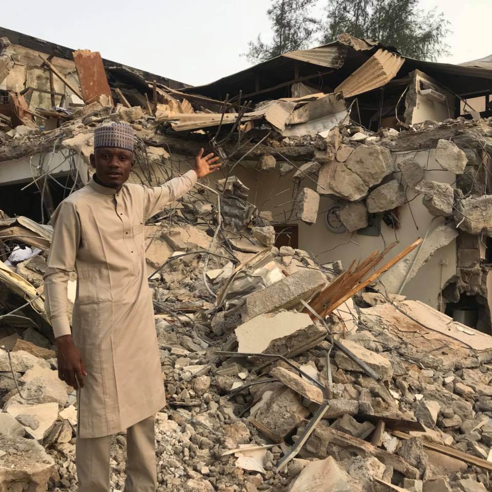 Image result for Kaduna demolishes head office of APC faction that suspended el-Rufai