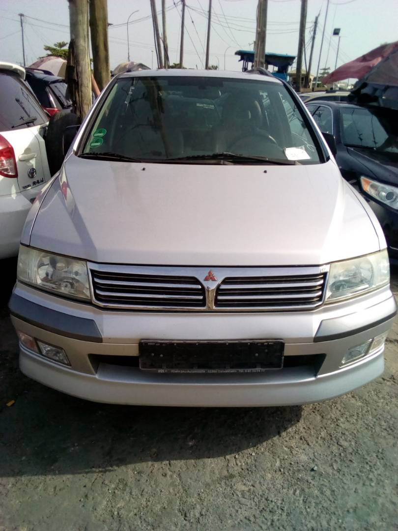Accident free tokunbo with manual gear. With customs papers. Location:  Berger Mile 2 Lagos. Whatsapp or call 08096577304. Re: Mitsubishi Space  Wagon ...