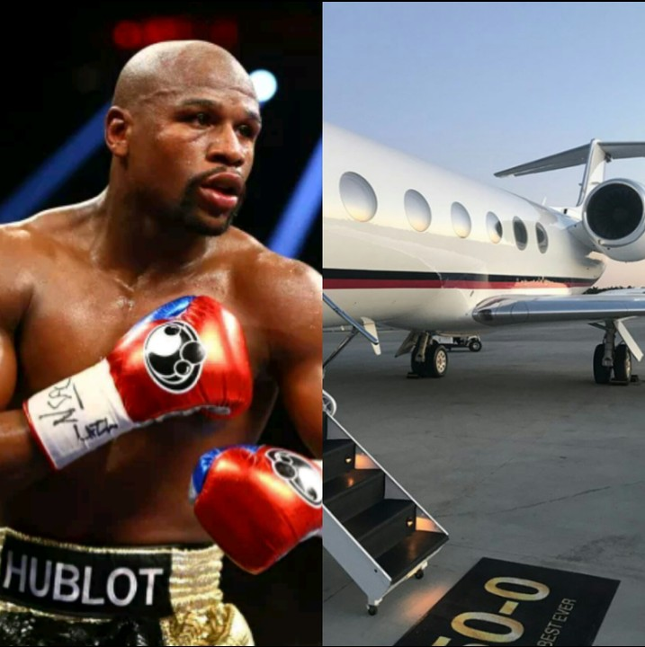 Mayweather Buys Himself A Private Jet For His 41st Birthday (Photos)