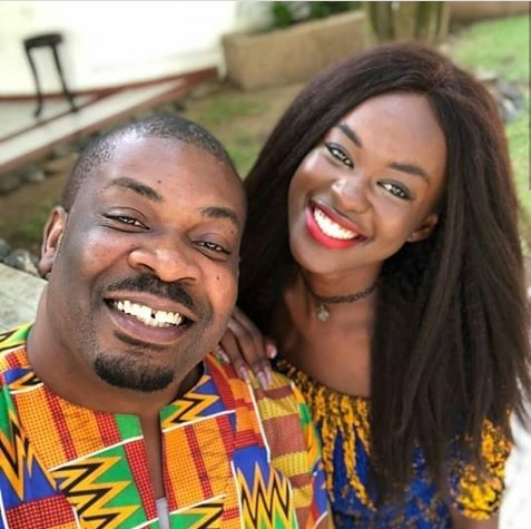 HOT!!!: Don Jazzy Spotted with, Ex Miss Ghana All Smiles In Cute Photo