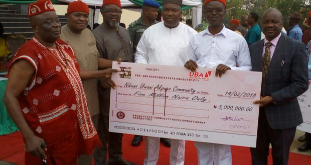 Gov. Ugwuanyi Disburses N2.25bn To 450 Autonomous Communities For Devt Projects