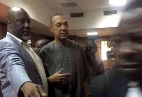 Drama At Dino Melaye's Trial As Senators, Protesters Storm Court (Photos)