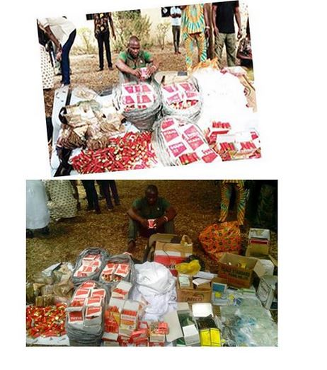Delta Pastor Caught With Tramadol, Guns, Ammunition And N4 Million (Photos)