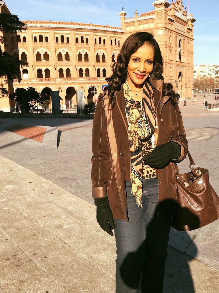 Bianca Ojukwu All Smiles As She Visits Bull Fighting Arena In Spain (Photos)