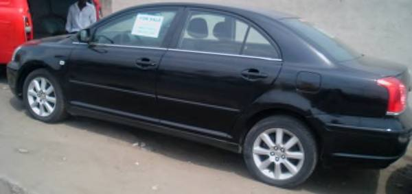 2004 toyota avensis black 63 000 km for sale autos nigeria. Black Bedroom Furniture Sets. Home Design Ideas
