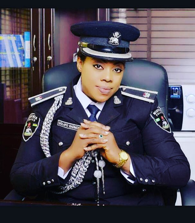 Image result for Chief Superintendent of Police, CSP Dolapo Badmos