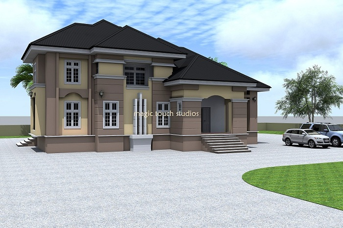 Architectural designs for nairalanders who want to build for 5 bedroom bungalow designs