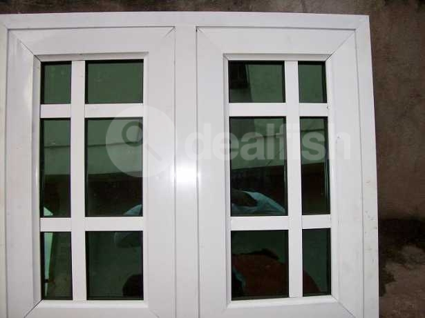Aluminium profile glass and accessories for doors and for Nigeria window design