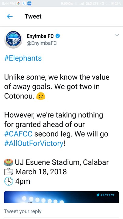 Enyimba FC Throws Shade At Manchester United After UCL Ouster