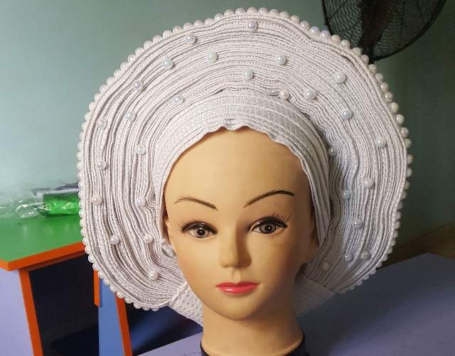 Auto Gele ( Ready To Wear ) In Stock. Call 09028012329 Or