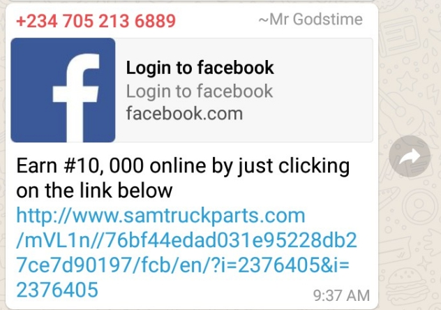 New Method Yahoo Boys Are Using To Hack Your Facebook Account