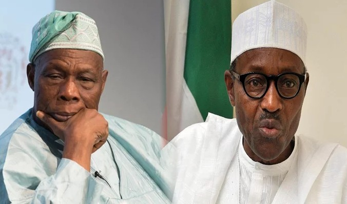 """""""I Did Not Say Re-Electing Buhari In 2019 Will Collapse Nigeria"""" – Obasanjo"""
