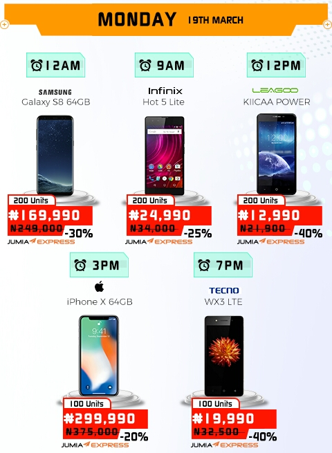 Jumia Mobile Week 2018 Get Ready For The Biggest Phone Sales