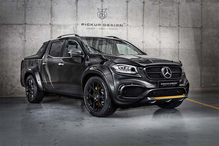 """The Mercedes-benz X-class EXY Is Your """"Best Or Nothing ..."""