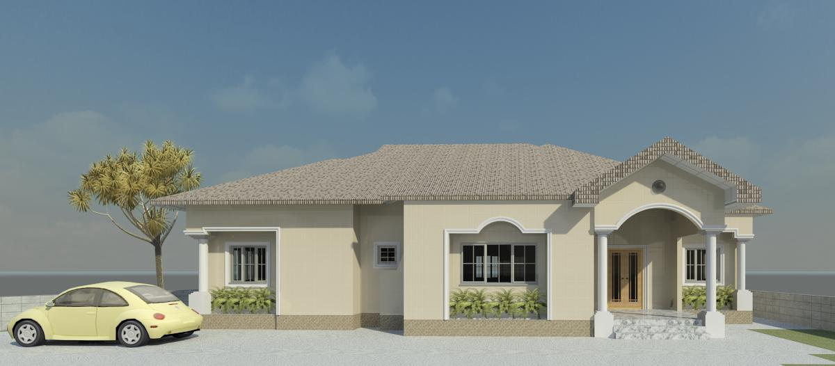 Reality Building Of A 4 Bedroom Bungalow Properties 9 Nigeria