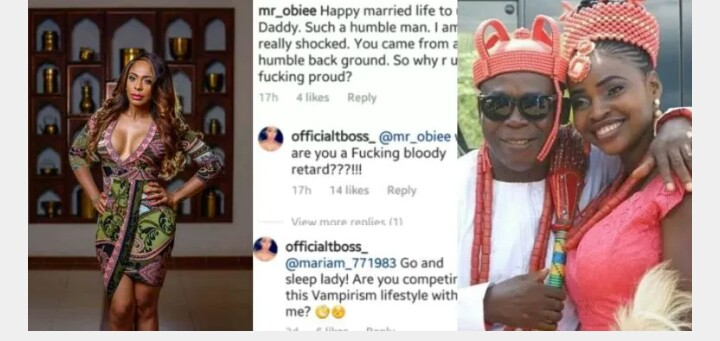 Tboss Fights Dirty With Fans Over Dads Wedding