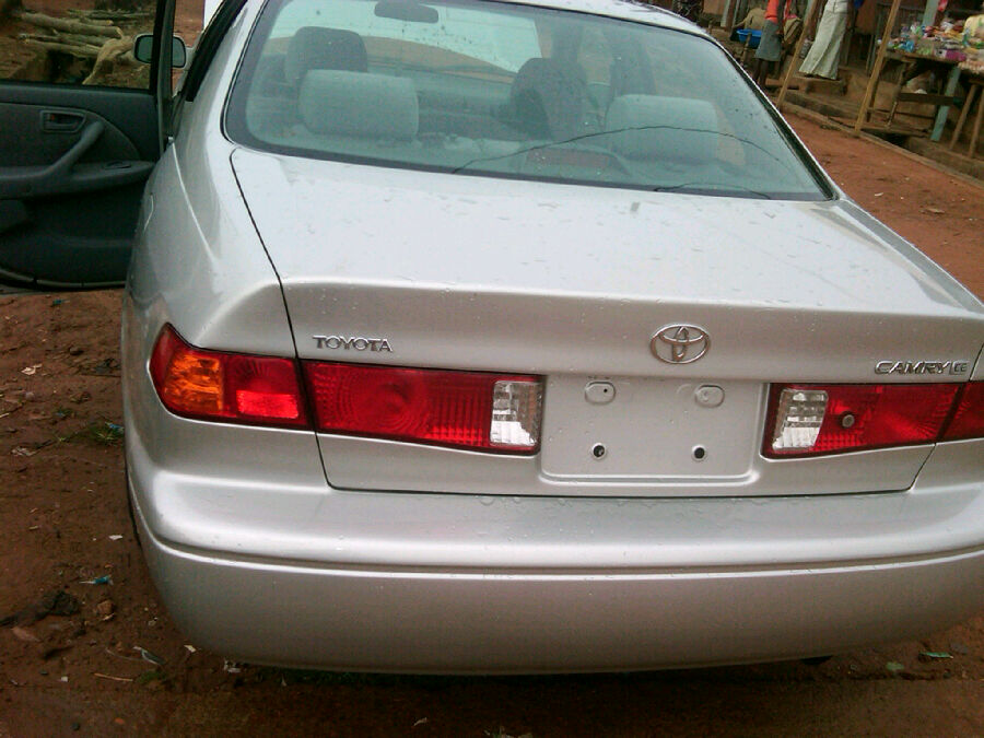 2002 Toyota Camry For Sale >> Toyota Camry 2002 Lagos Clearing For Sale N1 2m Negotiable